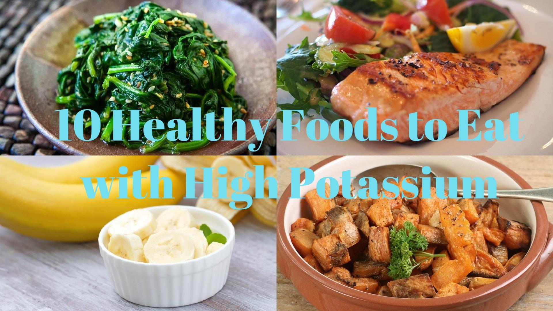 Foods with High Potassium